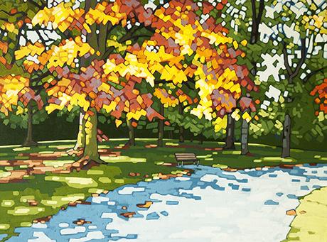 "Autumn Gold 18""x24"""