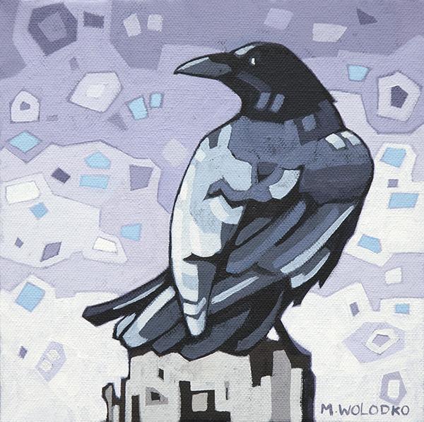 "Crow-2 8""x8"""