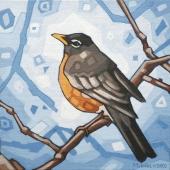 "Early Bird 8""x8"""