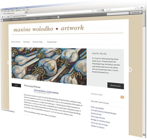 website idea