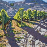 "Vines at Road 13 - 14"" x 18"""