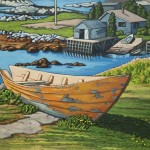 Retired in Nova Scotia 18 x 24