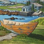 Retired in Nova Scotia 18 x 24
