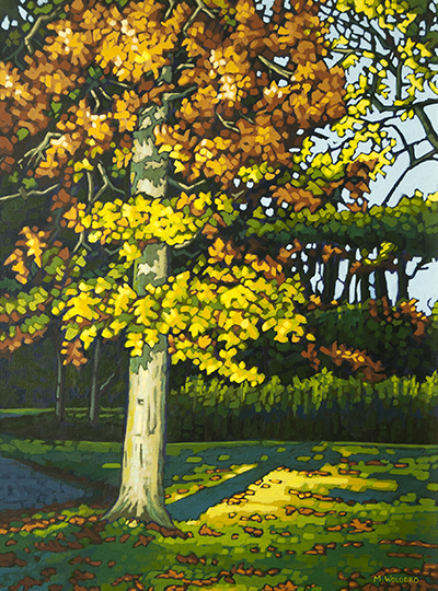 "Under the Oak Tree18"" x 24"""