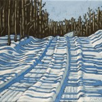 "Winter Tracks  8"" x 10"""