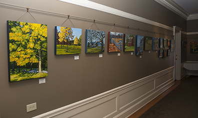 Paintings at Hycroft