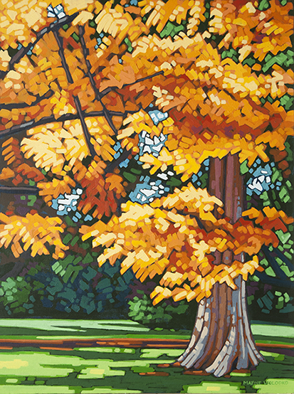 "Stanley Park Maple  24""x18"""