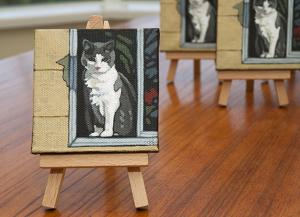 "Tiny Painting  3"" x 3"""